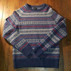 J Crew vintage crewneck sweater